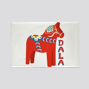 Swedish Dala Horse Magnets