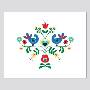 Bird Floral Border Posters