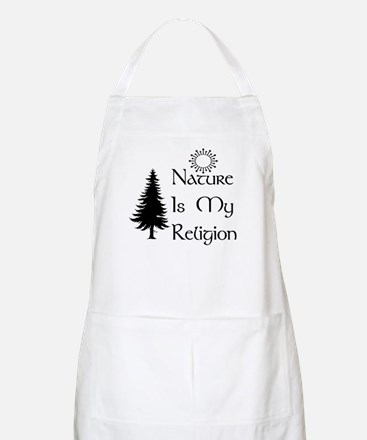 Nature Is My Religion BBQ Apron
