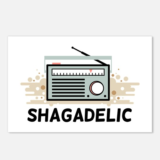 Shagadelic Postcards (Package of 8)