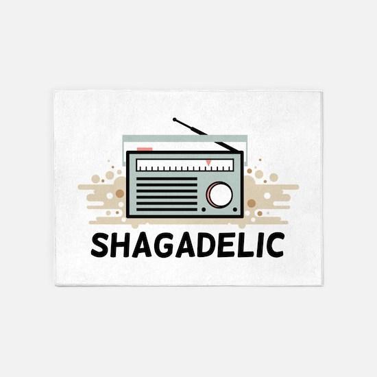 Shagadelic 5'x7'Area Rug