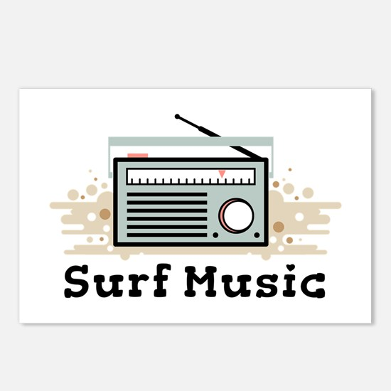 Surf Music Postcards (Package of 8)