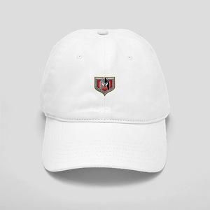 Spartan Helmet Shield Retro Baseball Cap