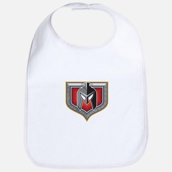 Spartan Helmet Shield Retro Bib