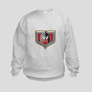 Spartan Helmet Shield Retro Sweatshirt