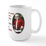 Santa and Sara 15 oz Ceramic Large Mug