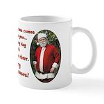 Santa and Sara 11 oz Ceramic Mug