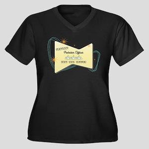 Instant Probation Officer Women's Plus Size V-Neck