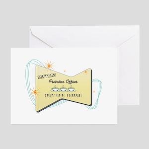 Instant Probation Officer Greeting Card