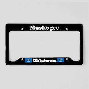 Muskogee OK - LPF License Plate Holder