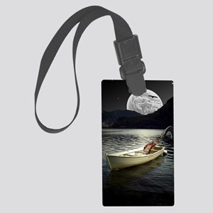 Loch Ness Collage Large Luggage Tag