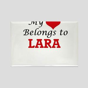 My Heart belongs to Lara Magnets