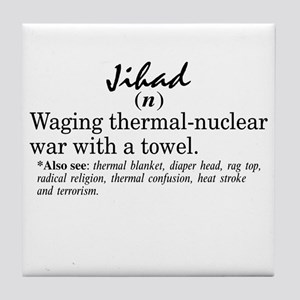 Jihad Tile Coaster