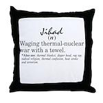 Jihad Throw Pillow