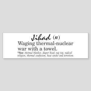 Jihad Bumper Sticker