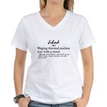 Jihad Women's V-Neck T-Shirt