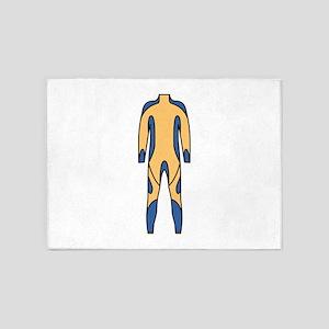 Wetsuit 5'x7'Area Rug