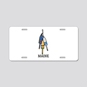 Maine Buoys Aluminum License Plate