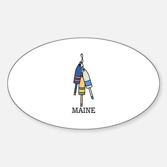 Maine Buoys Decal
