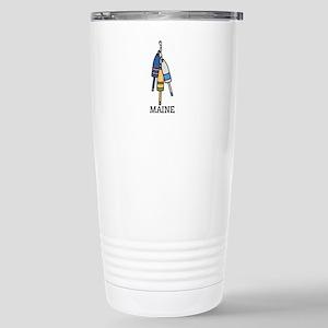 Maine Buoys Travel Mug