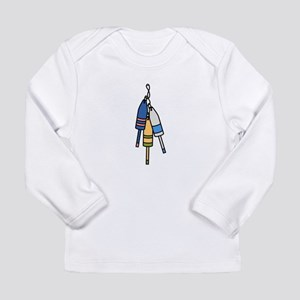 Lobster Buoys Long Sleeve T-Shirt