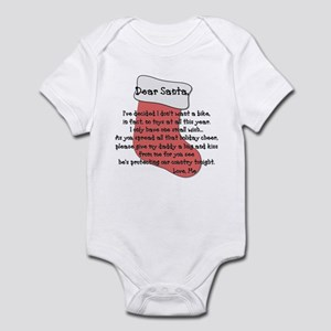 Dear Santa Infant Bodysuit
