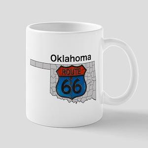 Oklahoma Route 66 Mug Mugs