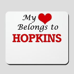 My Heart belongs to Hopkins Mousepad