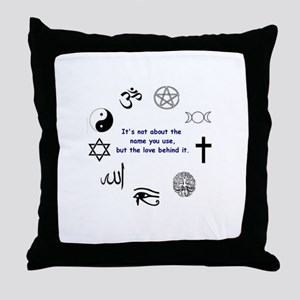 It's not about the name . . . Throw Pillow