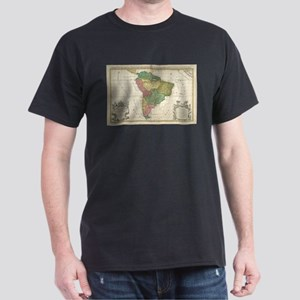 Vintage Map of South America (1691) T-Shirt