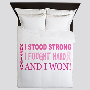 I Stood Strong Queen Duvet