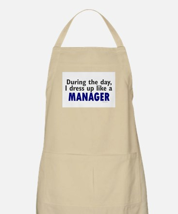 Dress Up Like A Manager BBQ Apron