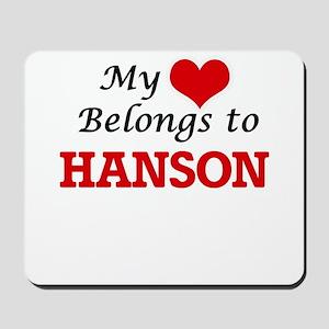 My Heart belongs to Hanson Mousepad