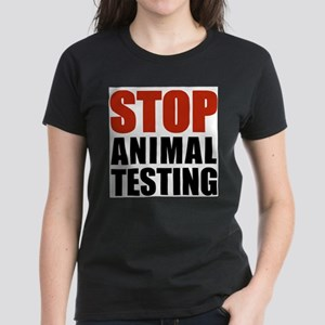 Stop Animal Testing Ash Grey T-Shirt