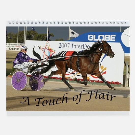 Cute Horse racing Wall Calendar