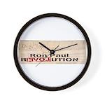 Ron Paul Preamble Wall Clock