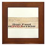 Ron Paul Preamble Framed Tile