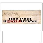 Ron Paul Preamble Yard Sign