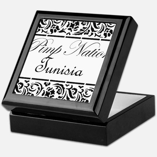Cute Tunisia Keepsake Box