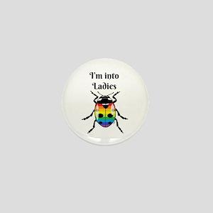 I'm into ladybugs Mini Button