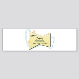 Instant Podiatrist Bumper Sticker