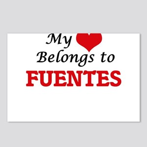 My Heart belongs to Fuent Postcards (Package of 8)