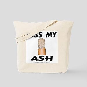 Kiss My Ash Cigar Tote Bag
