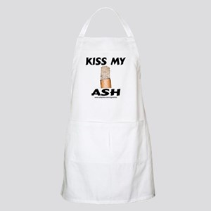 Kiss My Ash Cigar BBQ Apron
