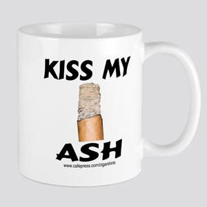 Kiss My Ash Cigar Mug