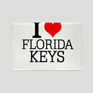 I Love Florida Keys Magnets