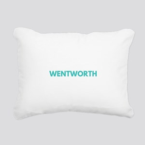 Wentworth Type Rectangular Canvas Pillow