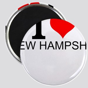 I Love New Hampshire Magnets