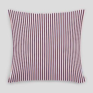 RedWhiteandBlueStripeLH2 Everyday Pillow
