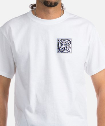 Monogram - Carnegie White T-Shirt